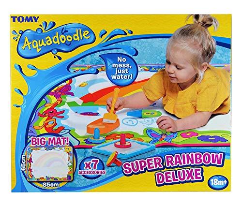 Aquadoodle Super Rainbow Deluxe Large Water Doodle Mat - £12.50 (Prime) + £4.49 (non Prime) at Amazon