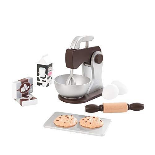 KidKraft Espresso Wooden Pretend Toy Baking Set - £9.78 (Prime) + £4.49 (non Prime) at Amazon