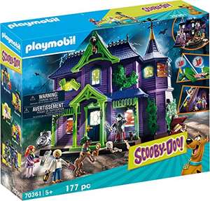 Playmobil SCOOBY-DOO! Adventure in the Mystery Mansion - £44.99 delivered at Amazon
