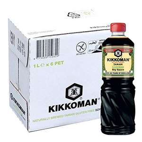 KIKKOMAN Tamari Gluten Free Soy Sauce 6000 ml (6x1000ml) - £7.50 (+£4.49 Non-Prime) - Sold by BigSellforYou / FBA @ Amazon