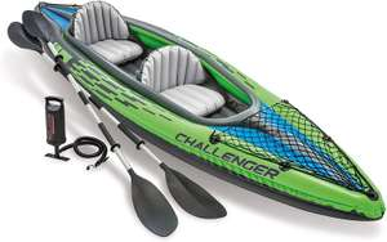 Intex Challenger Kayak Inflatable Set with Aluminum Oars £82.24 @ Amazon
