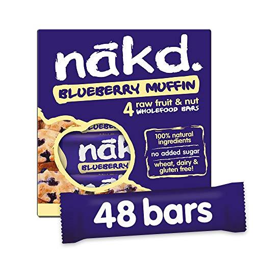 Nakd Blueberry Muffin 35g Bar - Multipack case of 48 Bars £13.70 @ Amazon