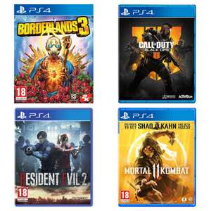 [PS4] Borderlands 3, Call of Duty: Black Ops 4, Resident Evil 2, Mortal Kombat 11, Dreams +more - £4.97 (Free Collection) @ Currys PC World