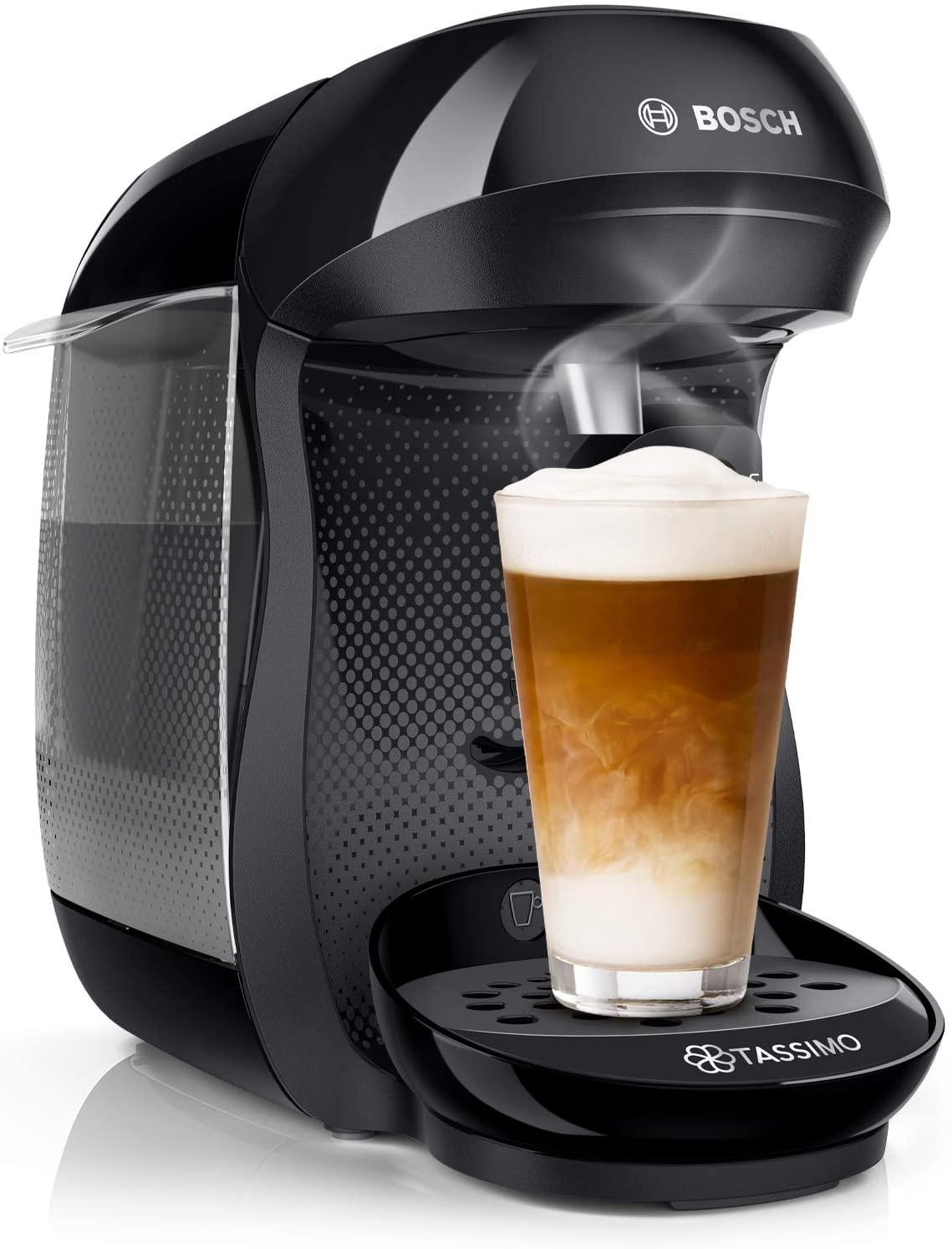 Bosch TAS1406 Tassimo Vivy2 Capsule Coffee Machine black/charcoal - Used Acceptable £22.56 (UK Mainland) @ Amazon Warehouse Germany