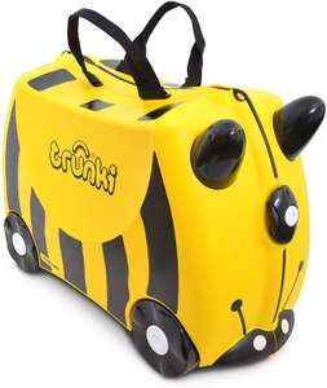 Trunki 14 All Year Children's Luggage, One Size (Yellow & Black) + 5 YEAR GUARANTEE - £17.99 Prime / + £4.49 non prime @ Amazon