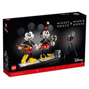 Shopdisney 20% sale LEGO Mickey and Minnie Figures Set 43179 - £130.04 delivered @ ShopDisney