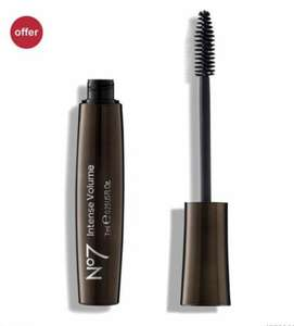 3 x no 7 Mascara £10 @ boots (3 for 2) - £1.50 click & collect. £8 with student discount