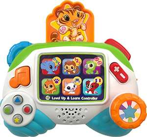 LeapFrog Level Up and Learn Controller (Green), Learning Toy with Sounds and Colours - £9.77 (+£4.49 Non Prime) @ Amazon