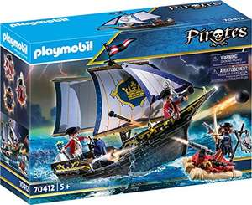 Playmobil Pirates 70412 Redcoat Caravel £18.83 (Prime) + £4.49 (non Prime) at Amazon