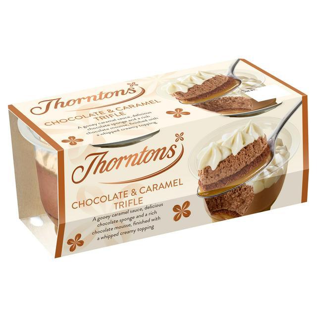 Thorntons Chocolate & Caramel Trifle 2x95g - £1 @ Sainsbury's