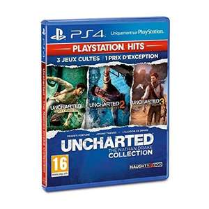 Uncharted: The Nathan Drake Collection (PS4 - Import) £6.67 (Prime) / £9.66 (Non-Prime) Delivered @ Amazon