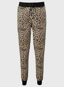 Leopard Print Coord Ladies Joggers - £7.00 (Fee click & collect / £3.95 Delivery) @ Argos / Tu