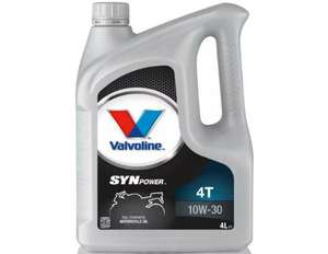 Valvoline Engine Oil 4 liters £5 (Free Collection / Limited Availability) @ Halfords
