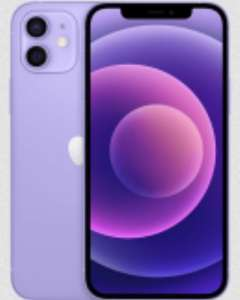 Apple iPhone 12 Purple on Three - £0 Upfront £39pm / 24m Unlimited Data + Unlimited Mins + Unlimited Texts £936 at Affordable Mobiles