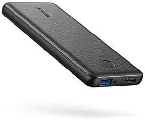 Anker Power Bank, 10000mAh, High-Speed PowerIQ Charging Technology - £13.99 Prime (+ £4.49 Non Prime) Sold by AnkerDirect and FBA