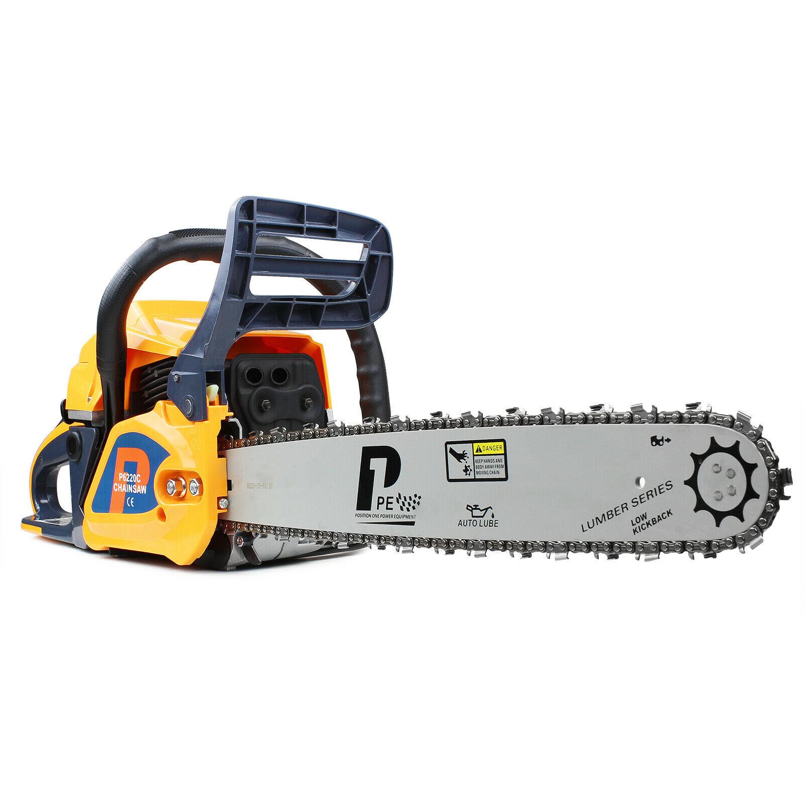 "Hyundai P1PE 20"" bar 62cc P6220C Petrol Chainsaw with Hyundai Carburettor for £107.99 delivered using code @ eBay / Hyundai"
