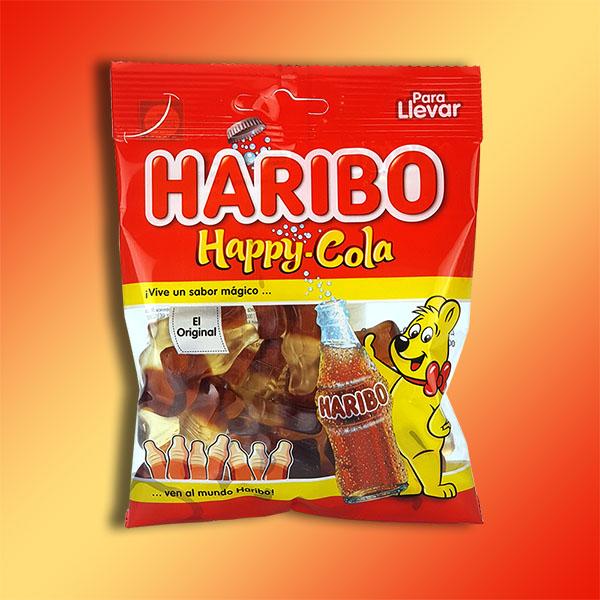 18 x Haribo Happy Cola Bottle Sweets 100g Packs £8 delivered (Best Before End June 2021) @ Yankee Bundles