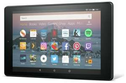 Amazon Fire HD 8 Alexa 8 Inch 16GB WiFi Fire OS Tablet - Blue/Red £40.99 at Argos / ebay (Black at £44.99)