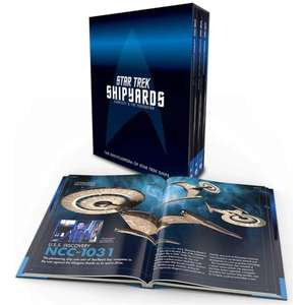 Star Trek Shipyards: Starfleet and the Federation Hardcover Box Set - £12.99 Delivered (Using Code) at Zavvi
