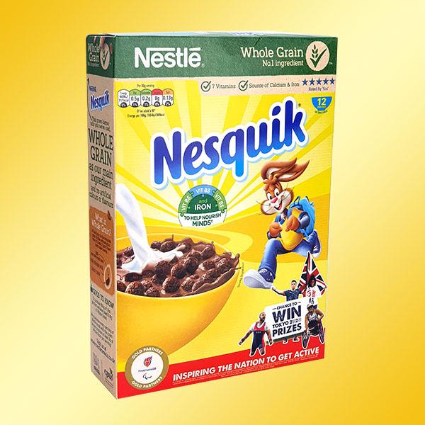 9 x Nestlé Nesquik 375G Cereal Boxes - £8 delivered (Best Before 30/04/2021) @ Yankee Bundles