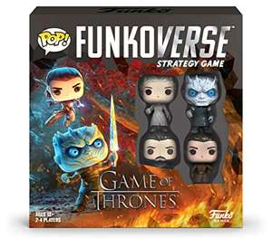 Funkoverse Game of Thrones Strategy Game - £11.61 Prime / £16.10 Non Prime at Amazon