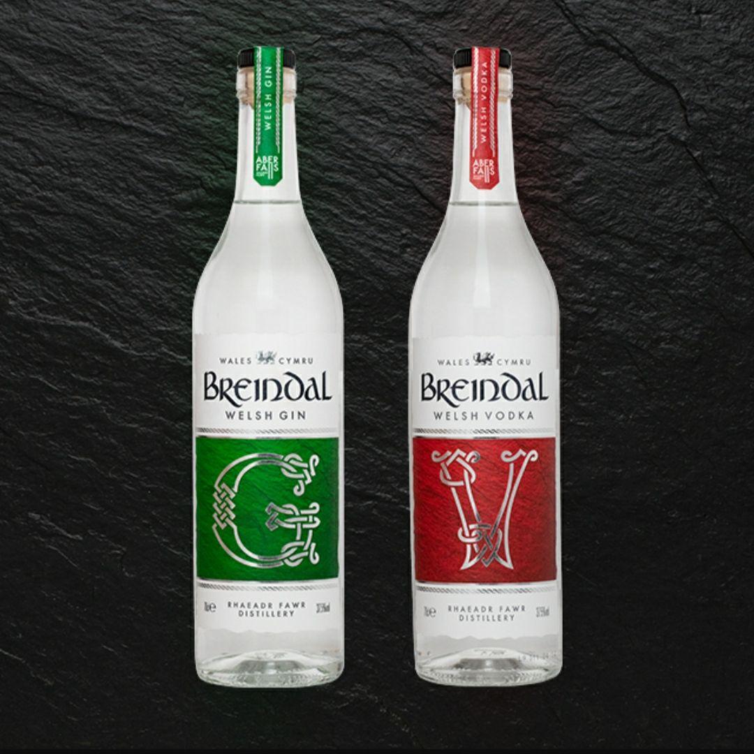 Four Bottles of Breindal Vodka - £40 Delivered (UK Mainland) @ The Drop Store