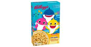 Kellog's Baby Shark Toffee Flavour Multigrain Cereal - £1.99 in-store @ Home Bargains (Heaton Park)