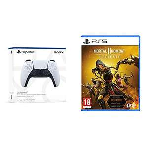 Playstation 5 Dualsense controller + Mortal Kombat 11 Ultimate (PS5) - £68.99 @ Amazon
