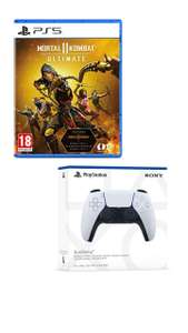 Playstation 5 (PS5) Dualsense Wireless Controller + Mortal Kombat 11 Ultimate Edition - £62.95 delivered @ The Game Collection