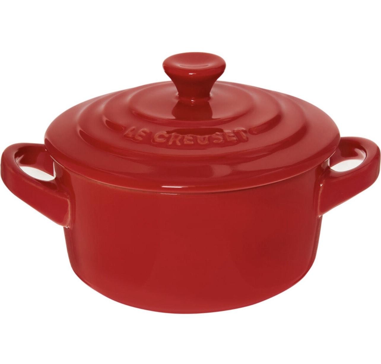 Le Creuset Chilli Red Petite Round Casserole Dish 250ml - £6.99 (+£1.99 Delivery) @ TK Maxx