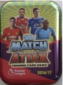 Match Attax EPL 2016/17 Trading Card Collector Tin - £1 (+£2.20 Delivery) @ Magic Madhouse