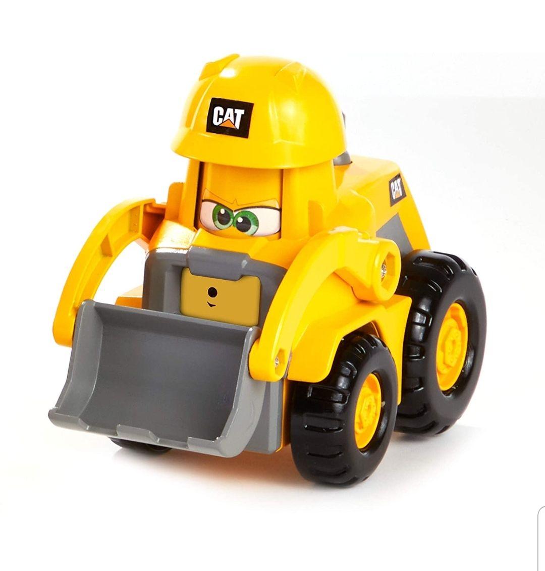 CAT Construction Junior Crew Construction Pals Wheel Loader 82445 - £4.96 (+£4.49 Non-Prime) @ Amazon