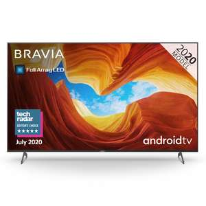 """Sony Bravia KD75XH9005BU 75"""" Full Array LED 4K HDR Android TV Free 5 Year Guarantee - £1,349 with code @ Hughes"""