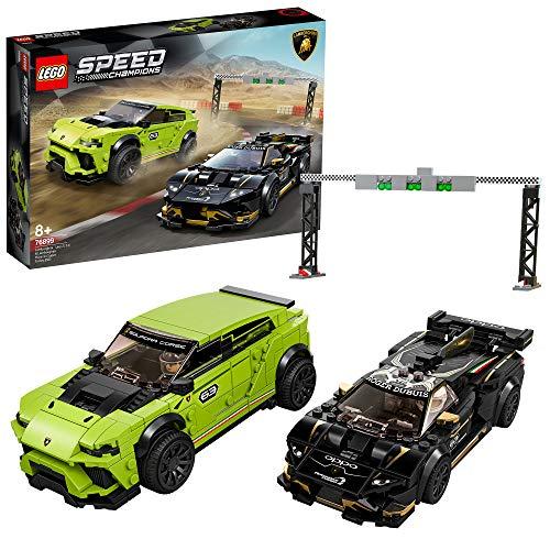 LEGO 76899 Speed Champions Lamborghini Urus ST-X & Lamborghini Huracán Super Trofeo EVO Race Cars Set - £41.24 @ Amazon
