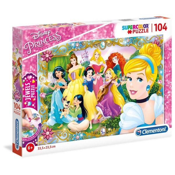 Clementoni Disney Princess 104 Piece Jewels Puzzle - £3.99 (Free C&C) @ Smyths Toys