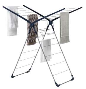 Argos Home Cross Wing Airer - Manufacturer's 1 year guarantee £8.99 (Free click and collect / £3.95 Delivery ) @ Argos