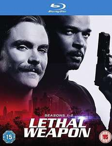 Lethal weapon season 1-2 blu ray £8.95 Prime (+£2.99 Non Prime) Sold by figswigs and Fulfilled by Amazon