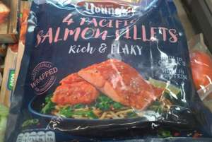 4 Frozen salmon fillets for £1 at Asda Gateshead