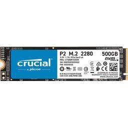Crucial P2 500GB PCIe M.2 2280 SSD - £42.81 @ BT Shop