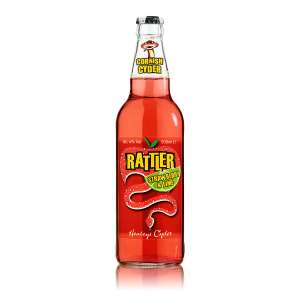 Rattler cyder strawberry lime £1 at Asda Penryn Cornwall