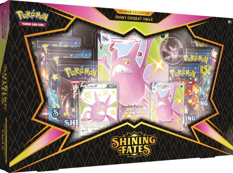 Pokemon - Shining Fates Premium V Max Collector's Box - Shiny Crobat V £42.50 at Chaos Cards