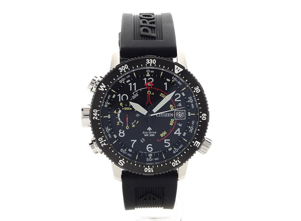 Citizen BN4044-15E Promaster Altichron Eco-Drive Black Strap Watch - W38108 £349 at F Hinds