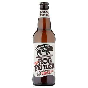 Orchard Pig Hogfather Cider 500Ml Bottle 99p at Home Bargains