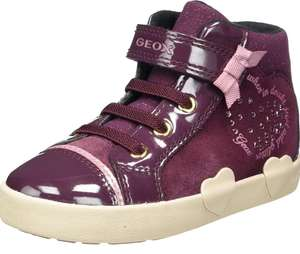 Geox B KILWI GIRL D, Baby Girls' Hi-Top Trainers Sneaker, size 3.5 UK - £9.40 Prime / +£4.49 non Prime at Amazon