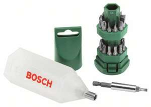 Bosch 25 Piece Screwdriving Set, £6 Prime (+£4.49 non prime) at Amazon