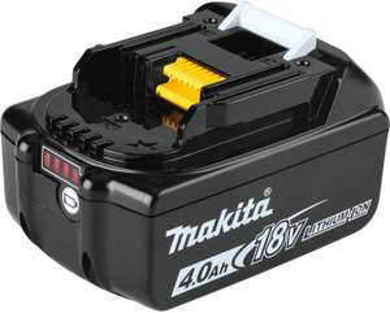 Makita bl1840B Li-ion 18 V / 4.0 Ah Battery with Charging Light - £54.49 UK Mainland Sold by Amazon EU @ Amazon