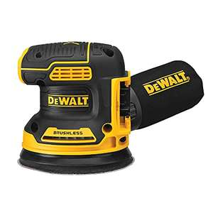 DeWalt DCW210B 18V Cordless Random Orbital Sander (Bare) - £88.93 Dispatched from and sold by Amazon US @ Amazon