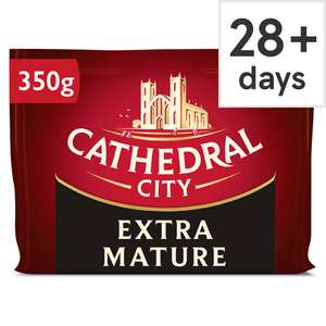 Cathedral City Extra Mature 350G £2.30 Clubcard Price @ Tesco