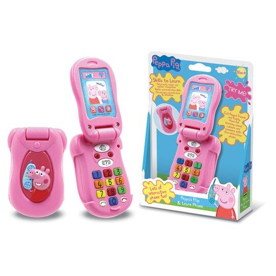 Peppa Pig Flip & Learn Phone £7.50 Clubcard Price @ Tesco