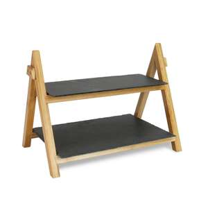 2 tier slate & bamboo cake stand. £2.99 + £2.95 delivery. (Or free if you purchased the £3.50 Roov day delivery pass) @ Roov